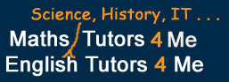 Private English Tutors throughout the UK.